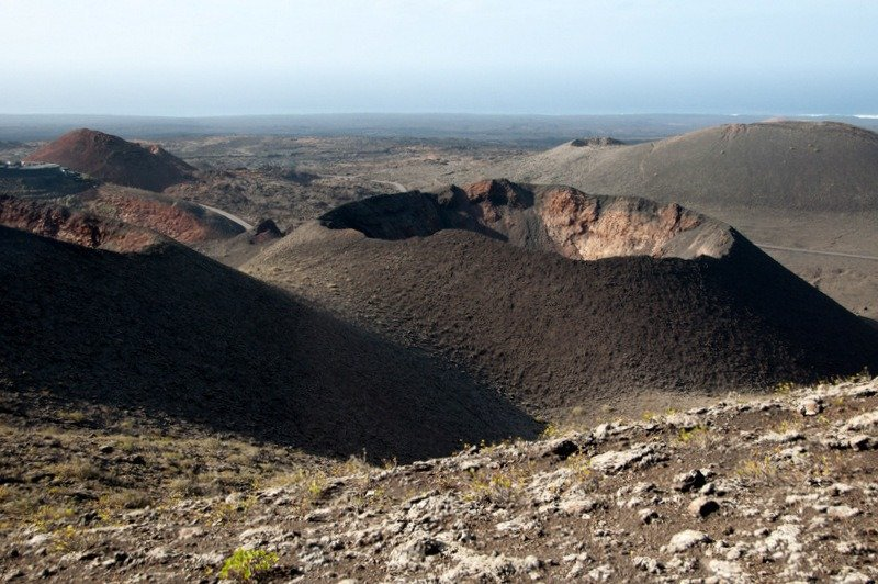 Volcano at Timanfaya National Park, Lanzarote