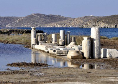 A day trip to Delos Island, Mykonos