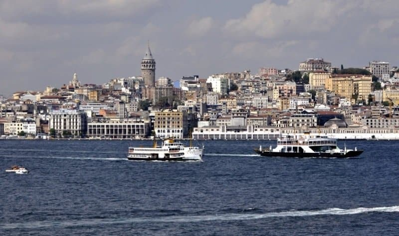 View of Istanbul from the Bosphoros