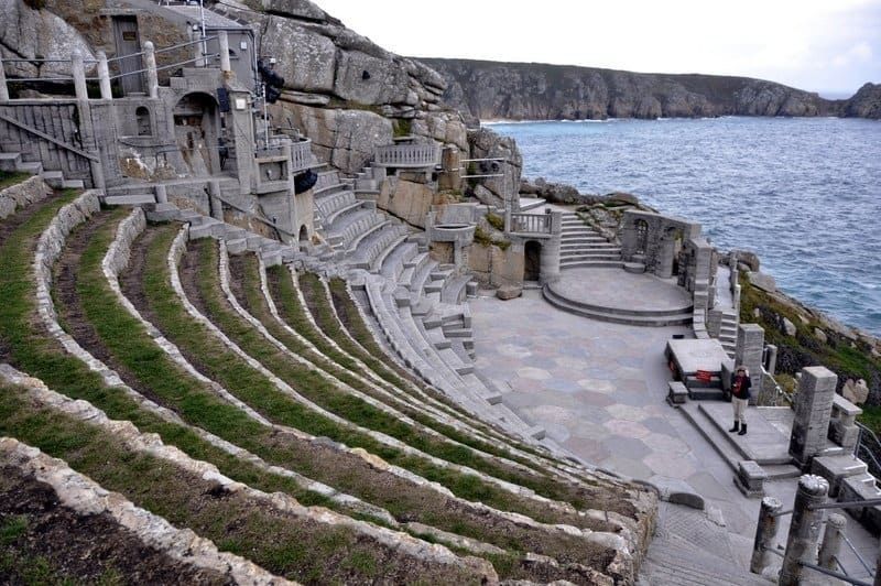 Turfed Seating at The Minack Theatre, Cornwall