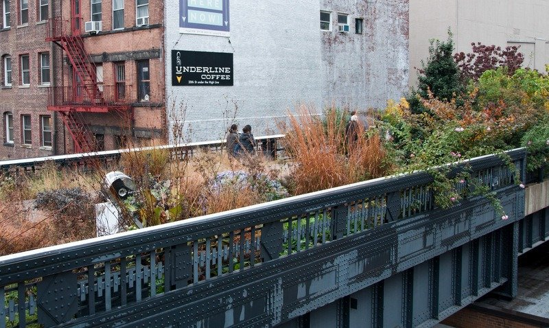 Art Deco Railings on the High Line