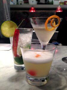 Cocktails at UNI London