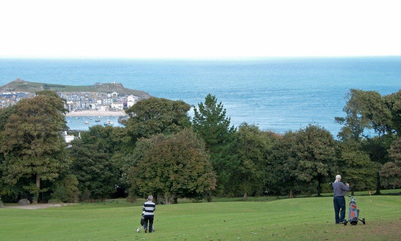 Golf Course at Tregenna Resort