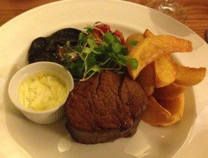 Roasted Cornish Beef Fillet