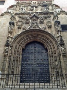 Door Malaga Cathedral