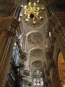 Vaulted Ceiling in Malaga Cathedral
