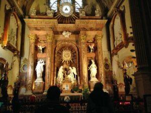 Interior Malaga Cathedral