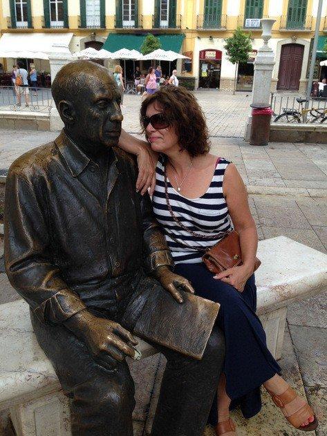 Picasso Statue, Malaga