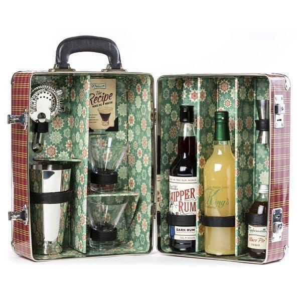 Tipplesworth Mince Pie Martini Suitcase