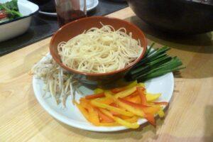 Hong Kong Noodles ingredients