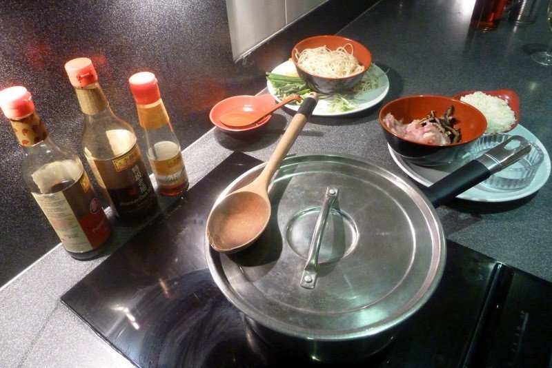 Chinese Cooking Station