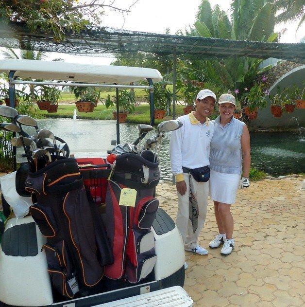 golfer-caddy