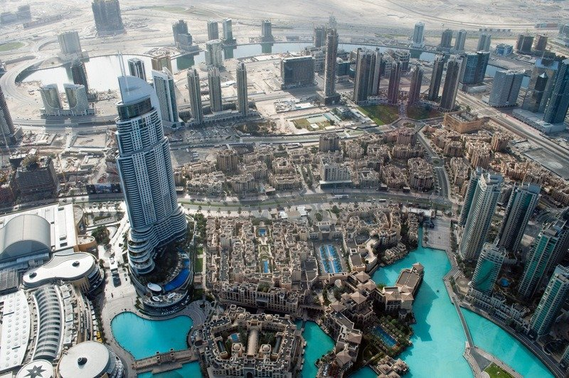 Dubai from Burj Khalifa