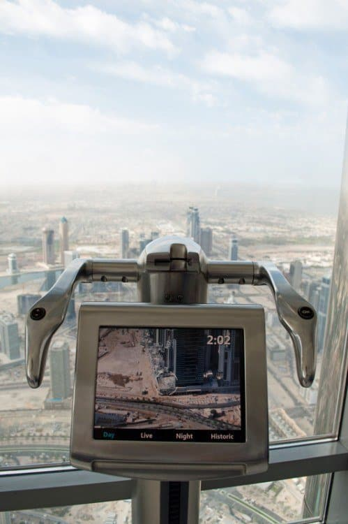 Telescope at Burj Khalifa
