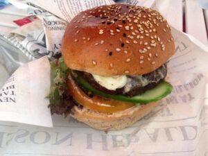 Camel Burger in Bun