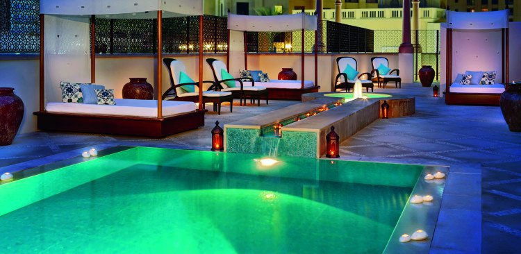 The Ritz-Carlton, Dubai Spa Outdoor Lap Pool
