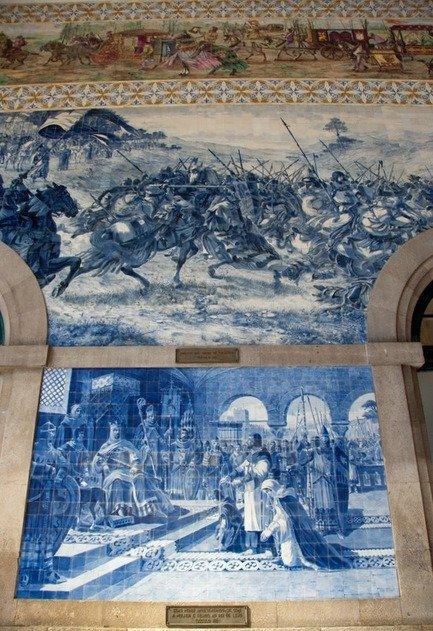 Tiles São Bento Station