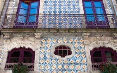 Azulejo Tile Style in Porto
