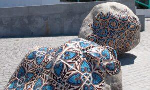 Tiled Art Installation, Porto