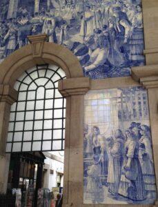 São Bento Station Tiles
