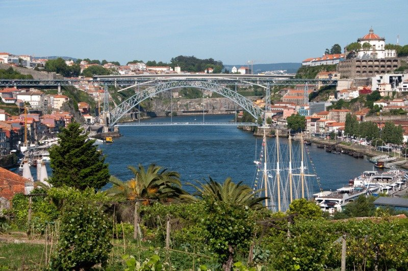 View of the Douro from Graham's Port Lodge