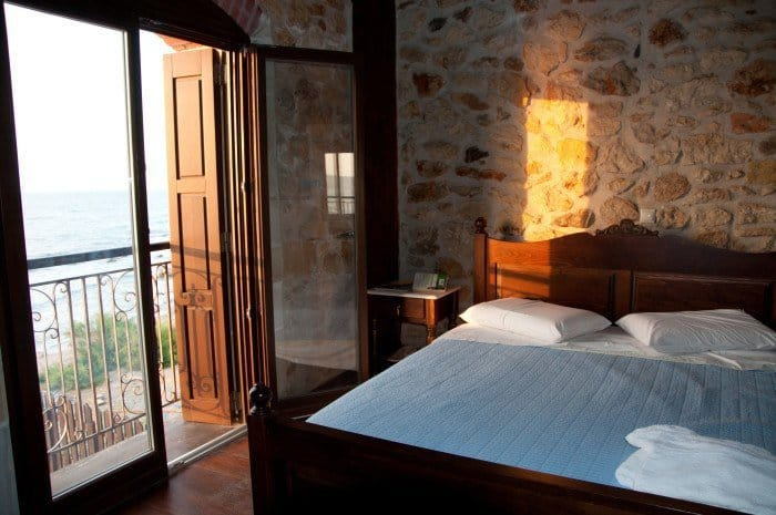 Bedroom, Villa Rethymno Beach, Crete