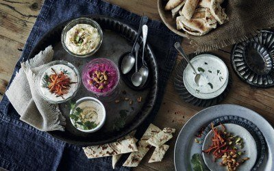 Hot Humous Recipe – Mezze, Small Plates to Share