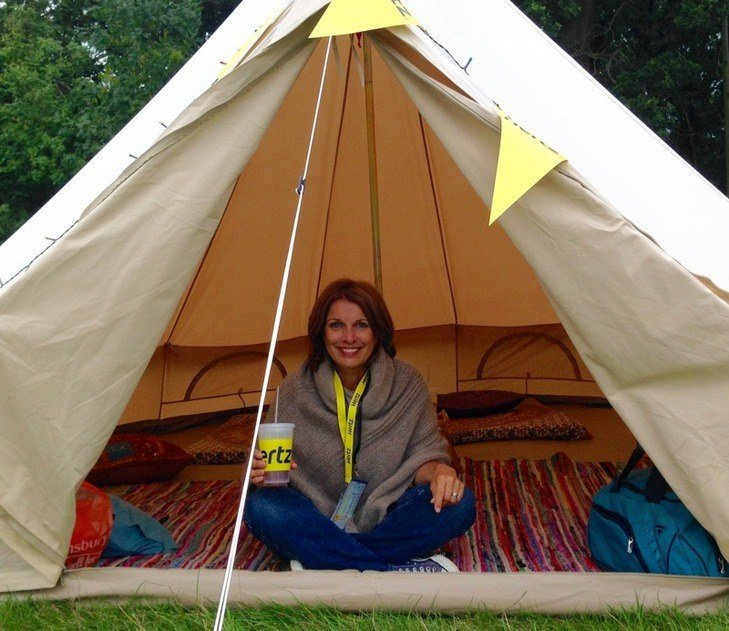 Glamping at Blogstock