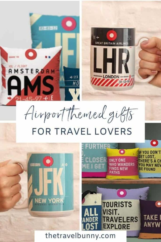 Airportag travel themed gifts