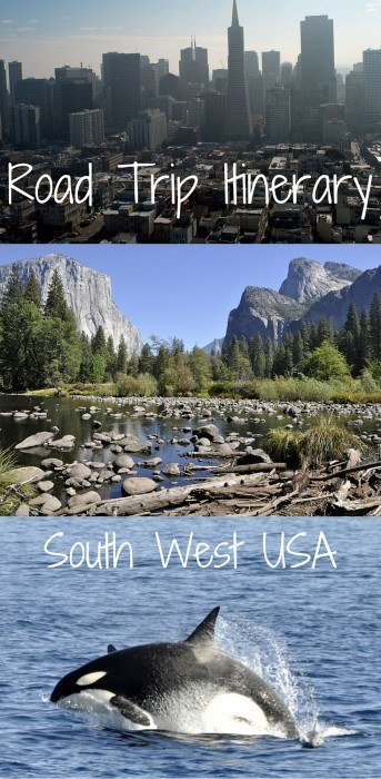 Road Trip Itinerary through South West America