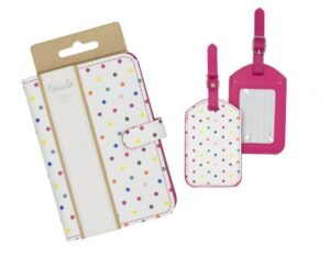 Trends Passport cover and luggage tags giveaway