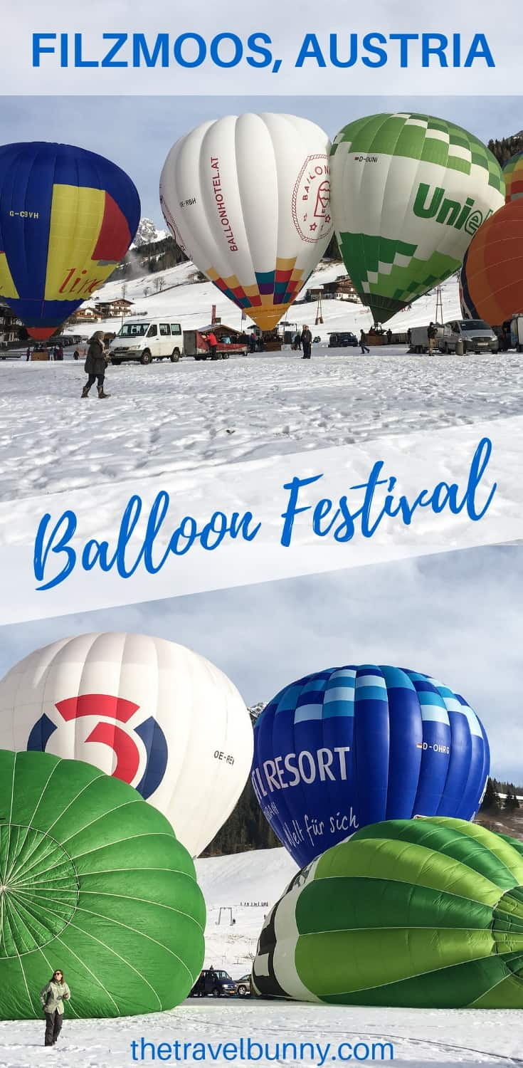 Hot air balloon festival! The Filzmoos Balloon festival and Night of the Balloons should be on your list of the best European festivals to visit! Read more about Austria's balloon festival to find out more #balloonfestival #hotairballoons #austria