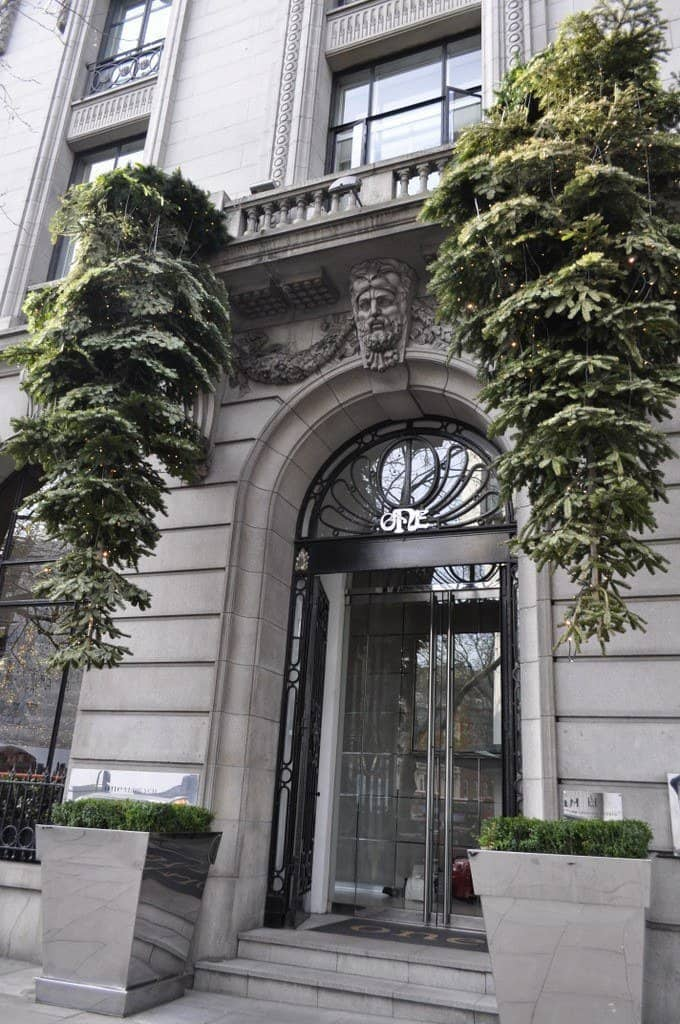 One Aldwych Entrance