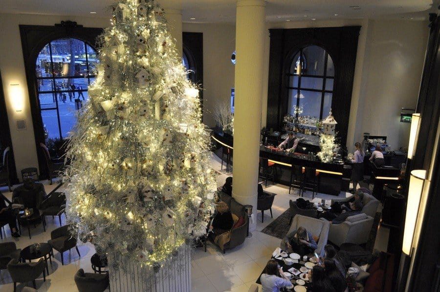 One Aldwych Lobby Bar Christmas Tree