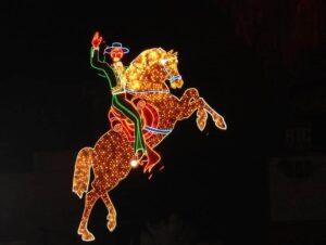 The Hacienda Horse and Rider, Las Vegas