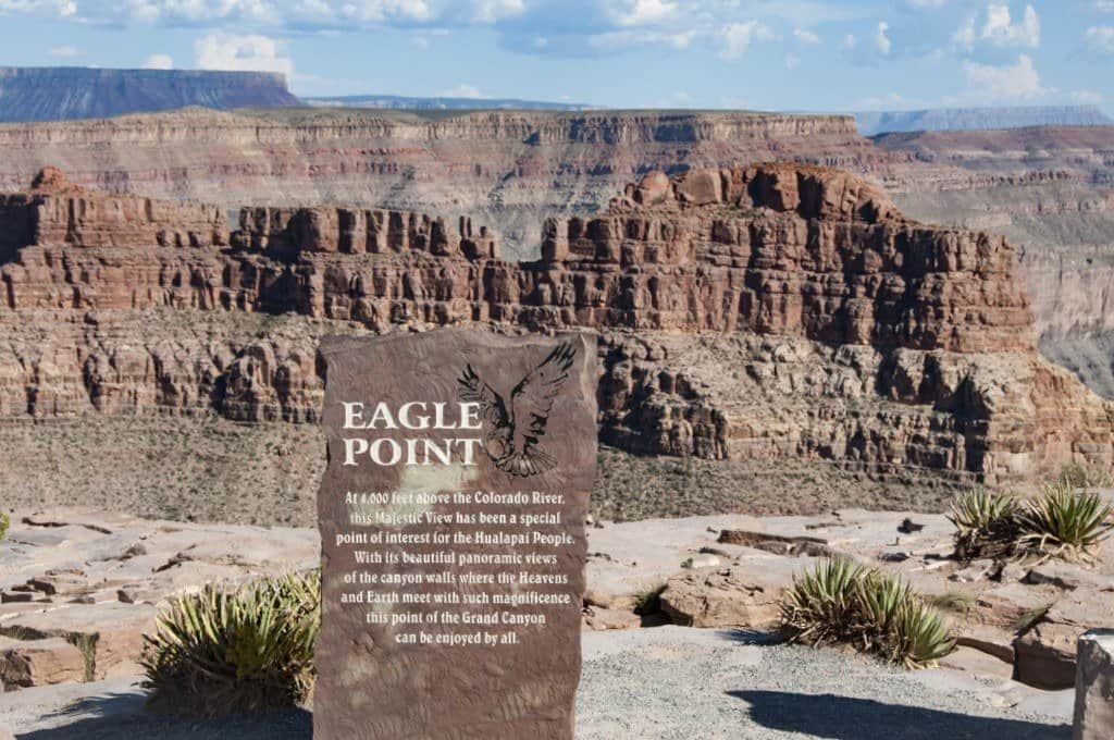 Eagle Point Plaque Grand Canyon