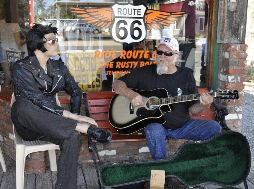 Seligman, Arizona - Kicks and Kitsch on Route 66