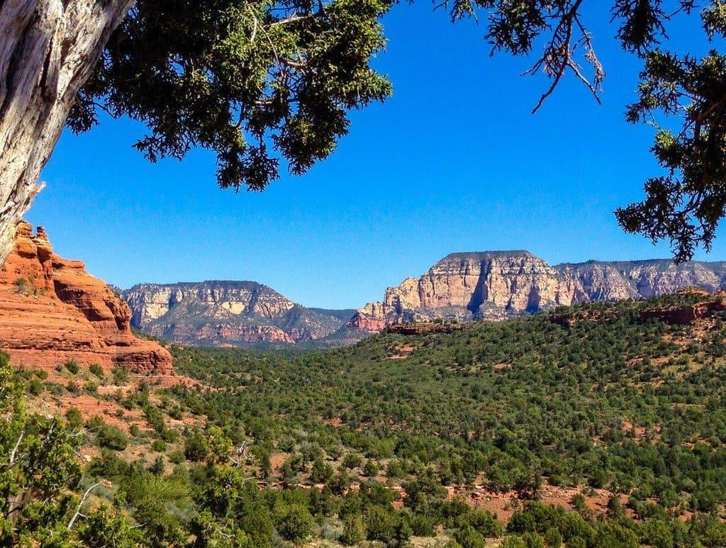 View from Vortex area, Boynton Canyon, Sedona