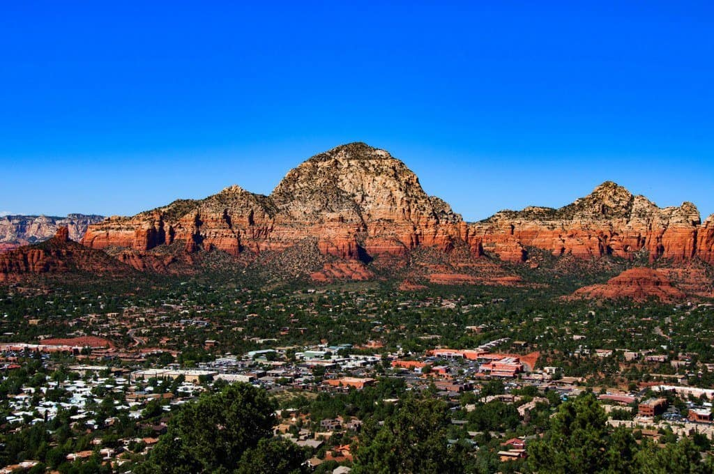 View of Airport Mesa, Sedona