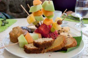 Fruit and Pastry Platter, Ottley's, St Kitts