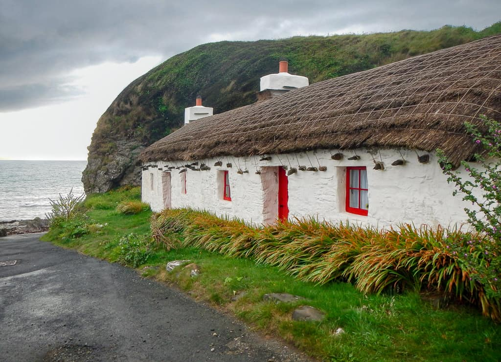 Cottage from Waking Ned, Isle of Man