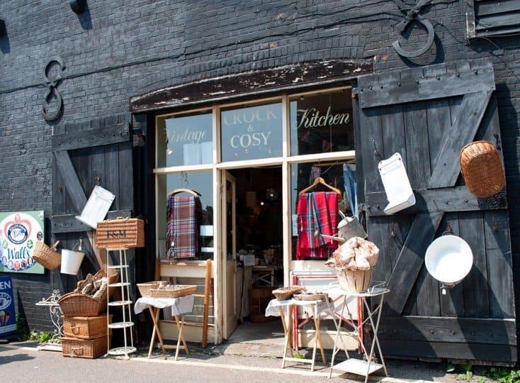 Crock and Cosy, vintage kitchen shop