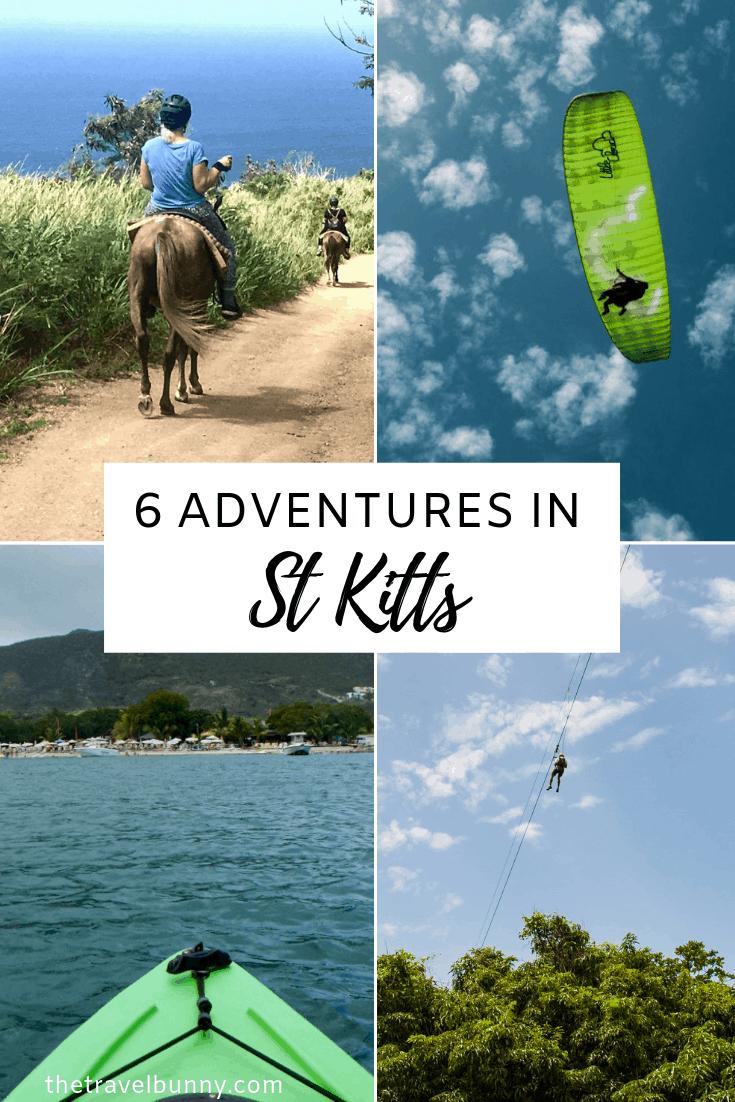 Adventure and adrenaline activities to do on the Caribbean island of St Kitts #stkitts #adventure #activities