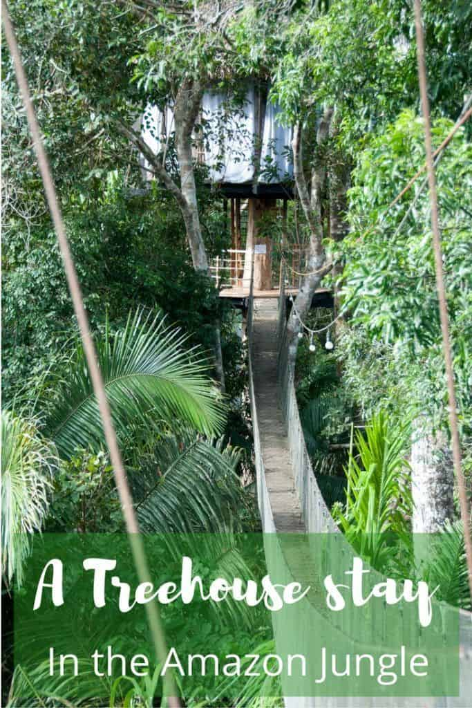Staying in a treehouse in the Amazon Jungle - Treehouse Lodge, Peru Review