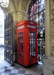 Red Telephone Box UK
