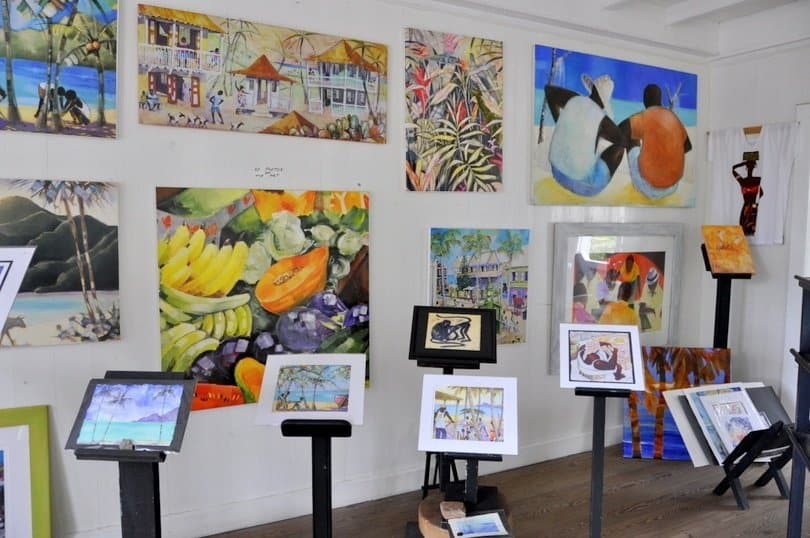 Gallery Cafe St Kitts