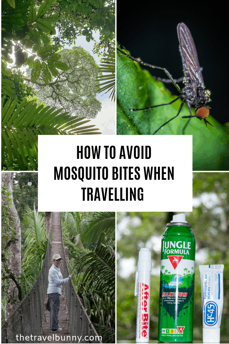 Top tips on how to avoid getting bitten by mosquitos when travelling #mosquito #repellent #tips