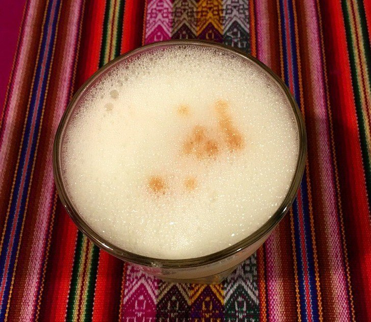Pisco Sour Peruvian National Drink