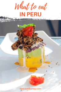 Causa - well known dish in Peru