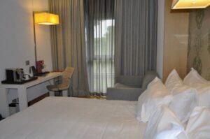 Hotel NH Roma Vittorio Veneto bedroom